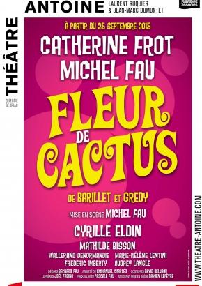 au balcon - fleur de cactus - théâtre expositions - résumé