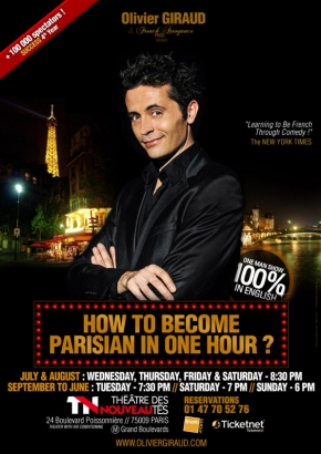 How to become parisian in one hour ?