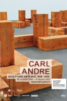 Expo Carl Andre, Sculpture as place