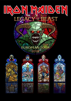 Legacy of the beast, Iron Maiden