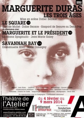 Marguerite Duras, Les 3 Ages - Savannah Bay