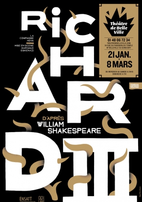 Richard III d'après William Shakespeare