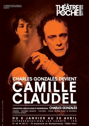 Charles Gonzales devient Camille Claudel